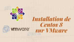 image centos 8 VMware